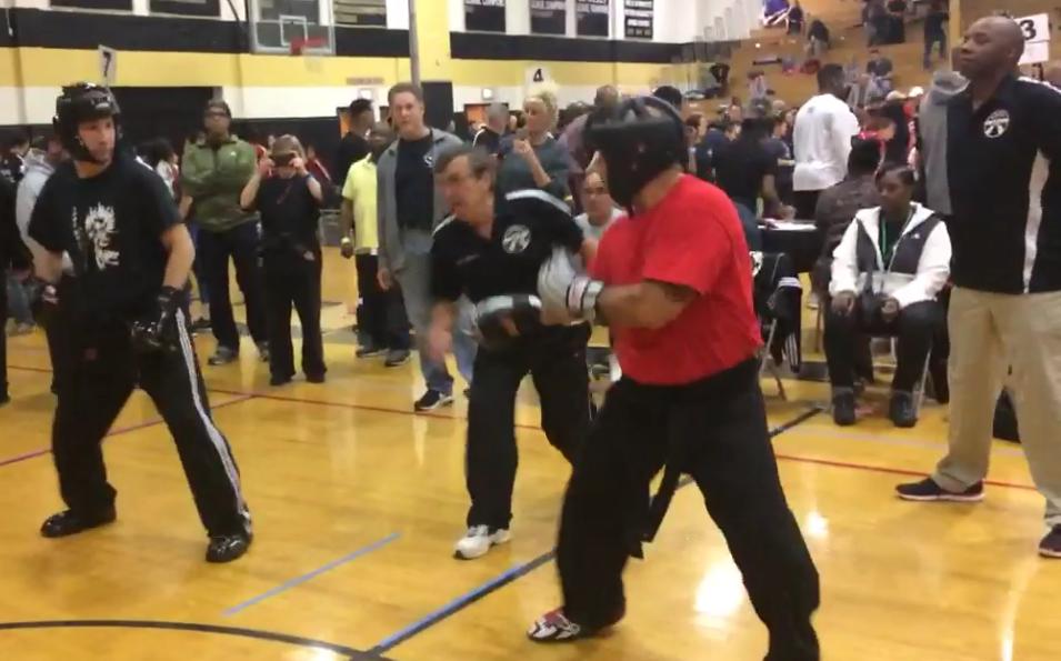 Why do martial artists scream?